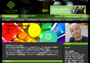 Tokyo Dance Park on InterFM hosted by MC Ryu