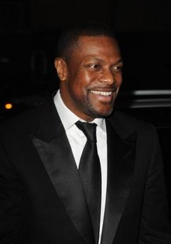 Chris Tucker in Black Suit