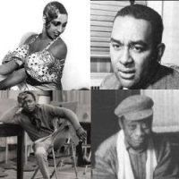 Josephine Baker, Richard Right, James Baldwin, Miles Davis