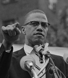 Malcolm X Speaking