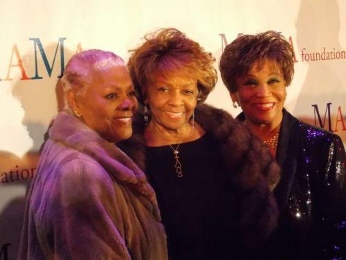 Dionne Warwick, Cissy H ouston, Vy Higginsen @ 30th Anniversary Gala