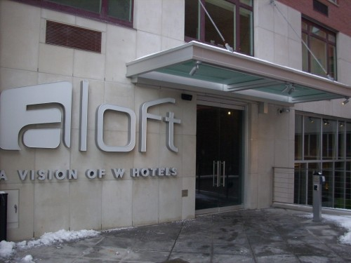 Aloft - Hotel Entrance