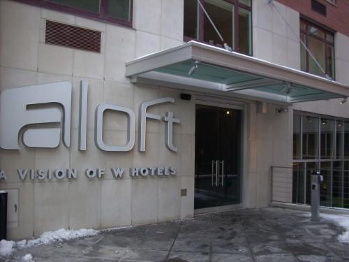 Aloft - Hotel Entrance
