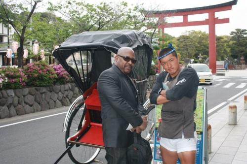 Rickshaw in Kamakura