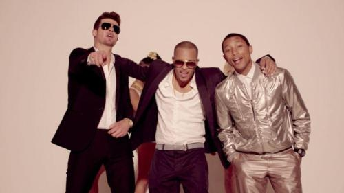 Robin Thicke, TI & Pharrell