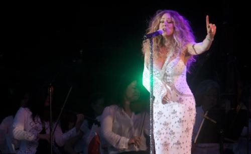 Mariah Carey with NY Phil