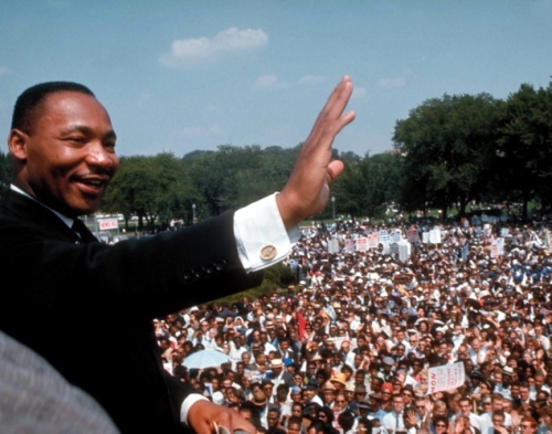 Martin Luther King Jr. in 1963