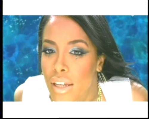 Aaliyah - Rock the Boat Video Shoot