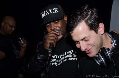 DJ Clark Kent and Mark Ronson