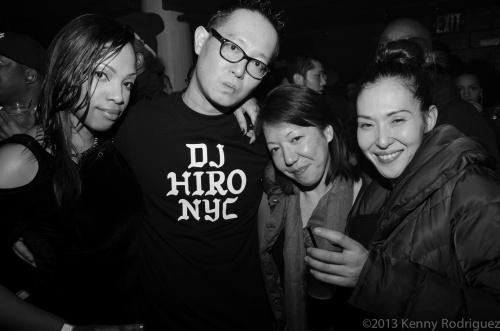 DJ Daz, Carol, Tomomi
