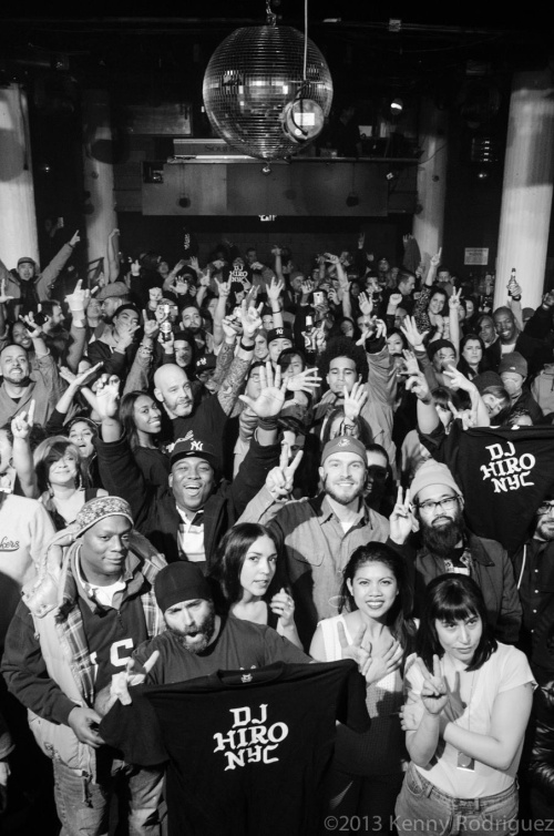 DJ Hiro Celebration at Santos on 12.19.2013