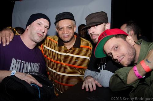 DJ Riz, Red Alert, Max Glazer, Eli Escobar