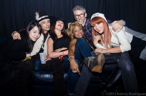 Masa, Taquana, Stretch, Kaori & friends