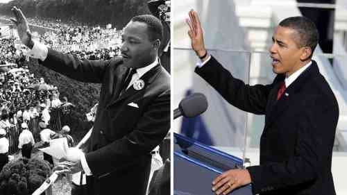 Reverend King & President Obama