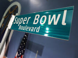 Super Bowl Boulvard in New York