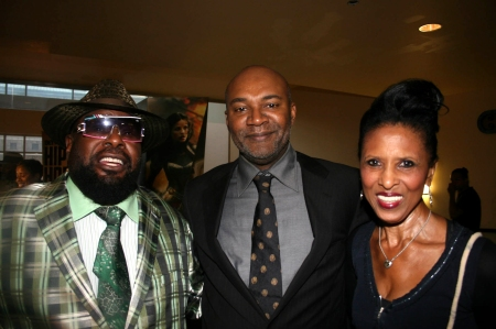 George Clinton, Nelson George and Nona Hendrix