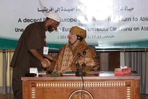 2011 Malcolm and Qaddafi
