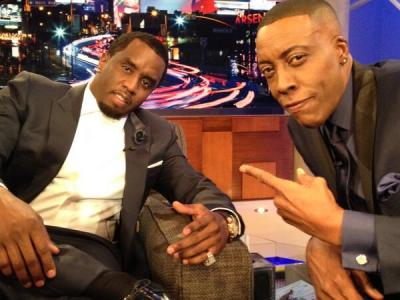 P Diddy and Arsenio