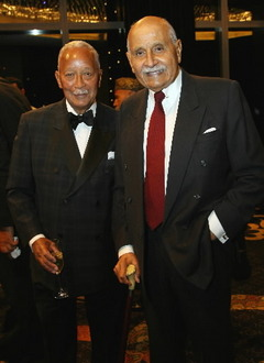 David Dinkins and Percy Sutton
