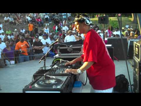Kid Capri at Crotona Park, Bronx