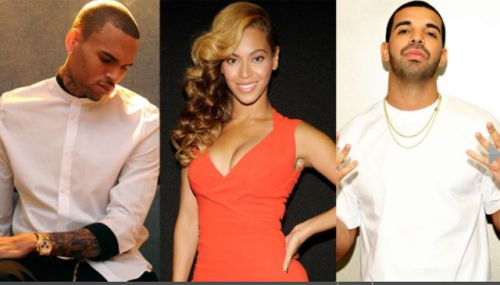 CB, Beyonce, and Drake -soul-train-nominees-2014