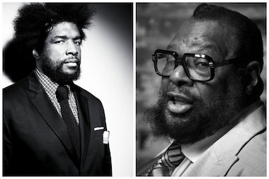 Questlove and George