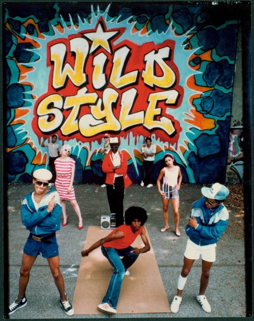 wild style dvd mural  large