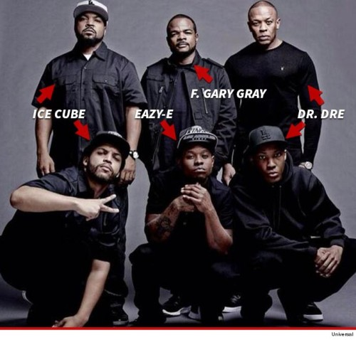 Straight Outta Compton - Cast