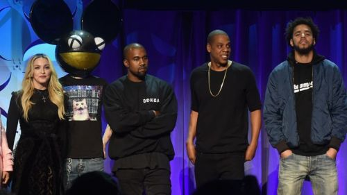Jay Z and Tidal artists